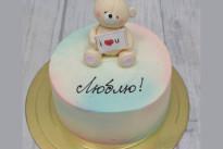 Торт С мишкой SWEETMARIN