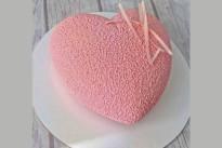 Торт Розовое сердце SWEETMARIN