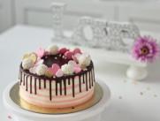 Торт С сердечками SWEETMARIN