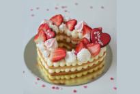 Тортик Сабле Сердце SWEETMARIN
