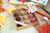 Коробка конфет на 1 сентября SWEETMARIN
