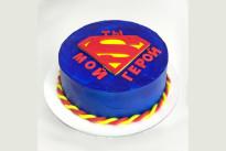 Торт Ты мой герой SWEETMARIN