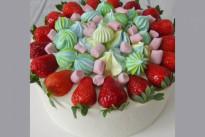 Торт с клубникой №2 SWEETMARIN