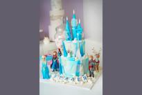 Новогодний детский торт SWEETMARIN