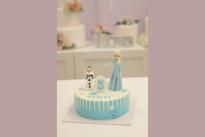 Торт с Эльзой SWEETMARIN