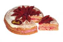 Торт Блинный с малиной У Палыча